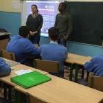 Visita de la ONG ACCEM en Secundaria