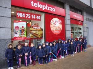 Visita a Telepizza