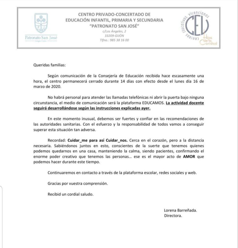 CIERRE DEL 16 AL 30 DE MARZO