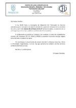 SUSPENSIÓN DE LAS CLASES